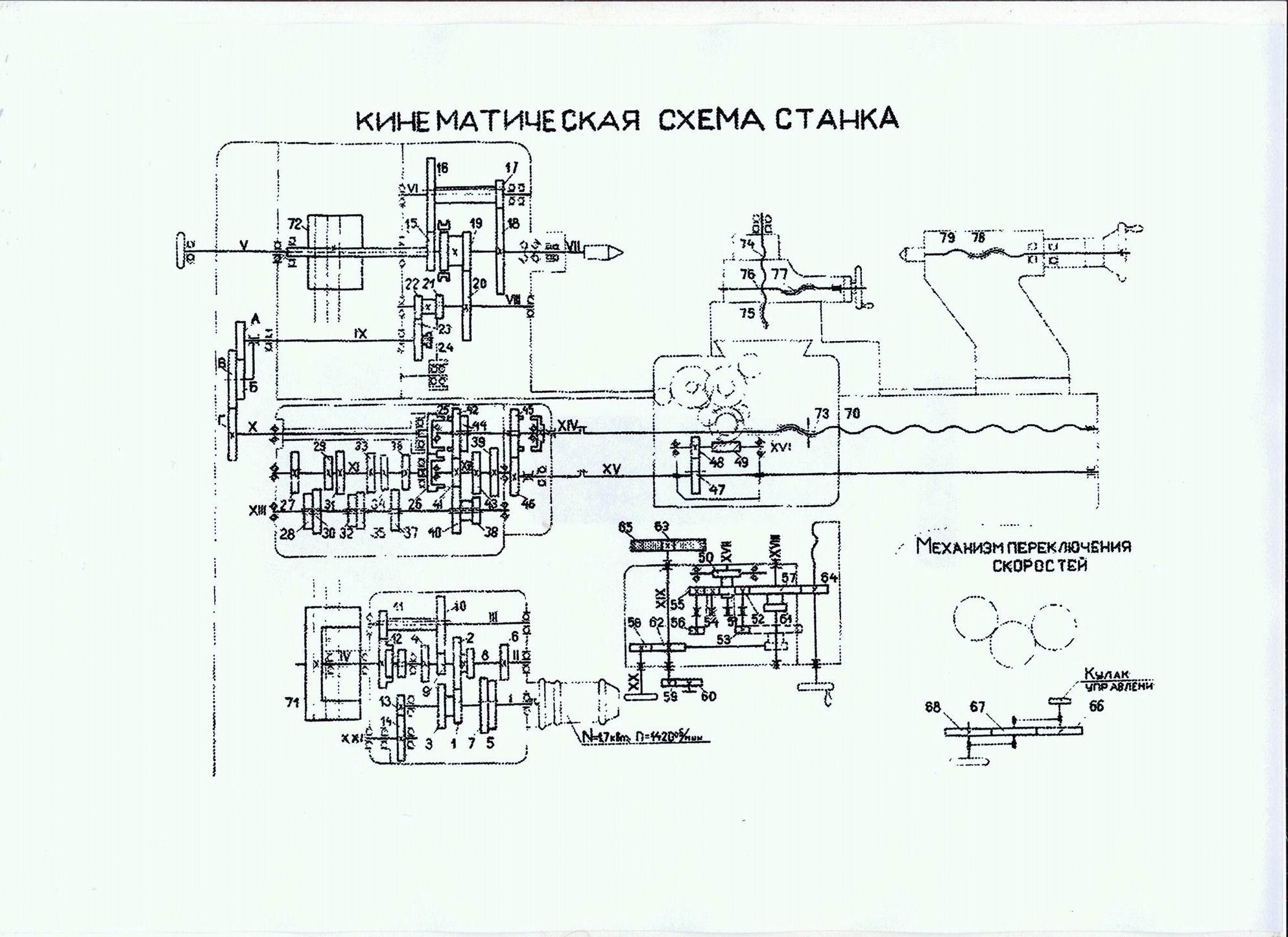 Система на схемах замещения